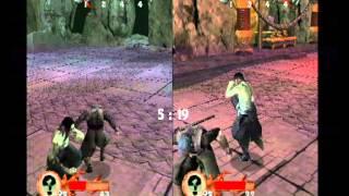 Tenchu 3 Wrath of Heaven Multiplayer Rikimaru vs Onikage