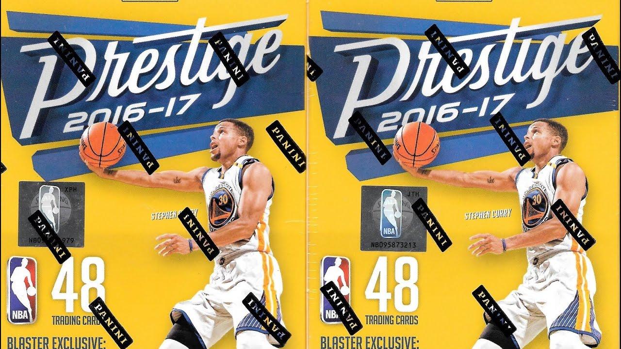 PANINI PRESTIGE basket NBA Trading cards Blaster Box 2016-17