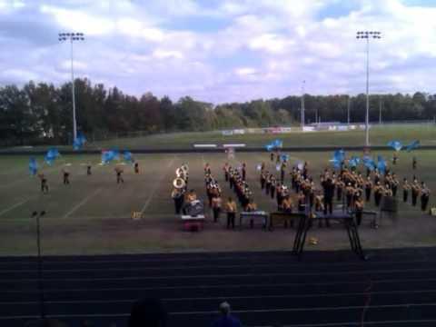 Bluestone High School Marching Barons 2011-2012