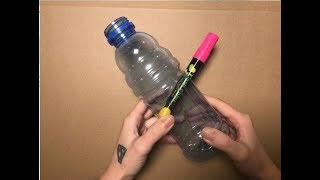為什麽筆能憑空穿進瓶子?攝像機慢放也看不出破綻(Why can a pen be put into a bottle by itself?)