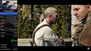The Witcher 3: Wild Hunt Any% Current Patch [No AHK*] Speedrun in 3:15:04 RTA