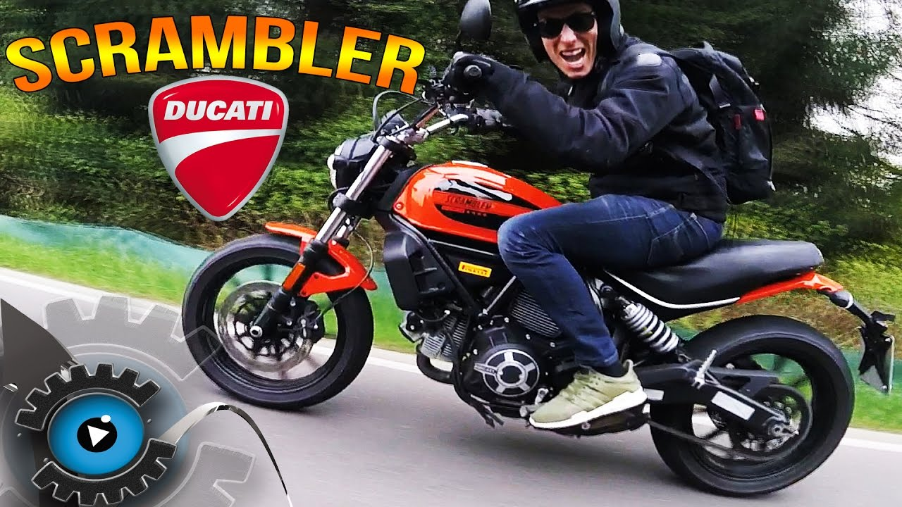 retro motorrad f r anf nger ducati scrambler review. Black Bedroom Furniture Sets. Home Design Ideas