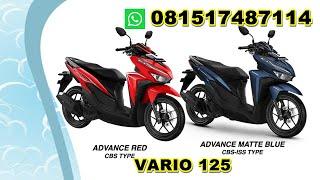 Kredit Cash Motor Honda Vario 125 Di Dealer Resmi Bogor , Wa 081517487114