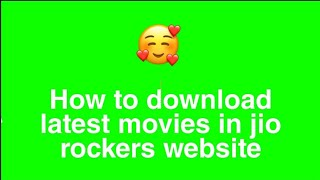 How to download movies in jio rockers