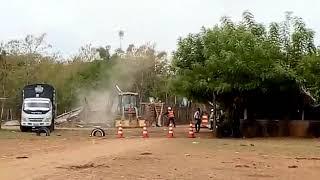 Demolición casas en El Hatillo