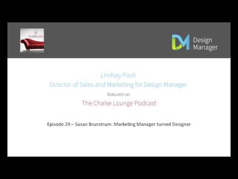 The Chaise Lounge Podcast Featuring Design Manager