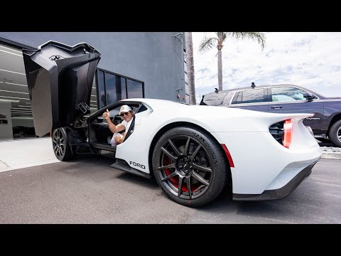ANOTHER DAY OF BREAKING IN MY FORD GT! || Manny Khoshbin