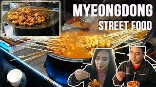 Kuliner Myeongdong Street Food | Apa aja di Line Friends Store?