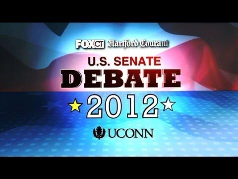 Connecticut Republican U.S. Senate Debate