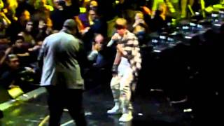 Z100 Jingle Ball 2010 Justin Bieber and Sean Kingston - Eenie Meenie [HD]