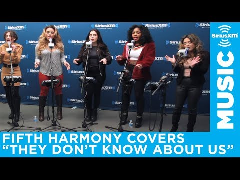 """Fifth Harmony """"They Don't Know About Us"""" One Direction Cover Live @ SiriusXM // Hits 1"""