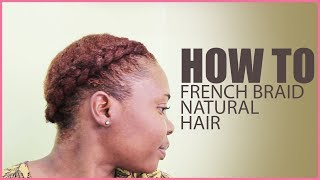 1 Of My Favovite Hairstyle | French Braid