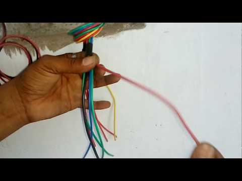 How to Mix Electrical Modular Board Wiring | House Wiring Electrical | M V Technical Skills