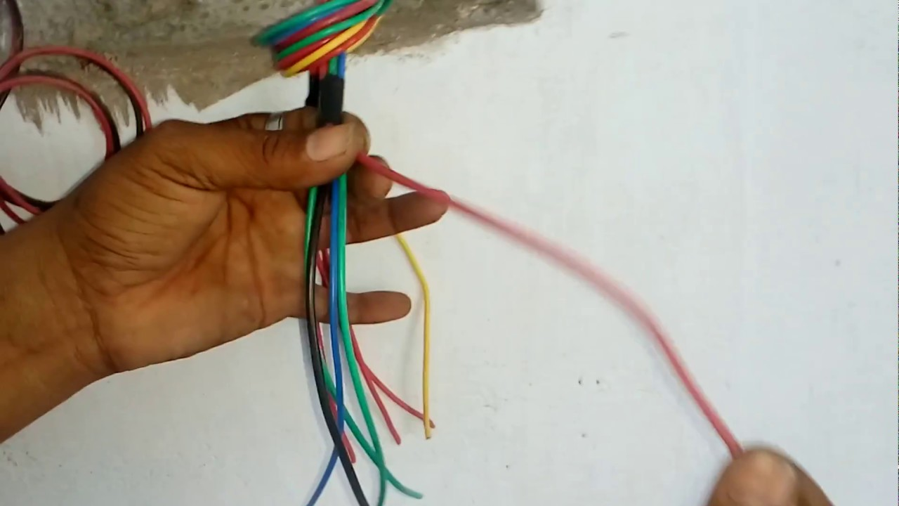 Prefabricated Electrical Wiring