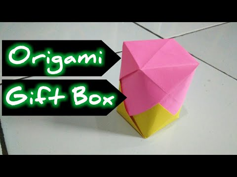 Origami Gift Box Rotate Simple and Beautiful - Paper Box Origami DIY