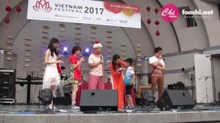 """ベトナムフェスティバル2017の2日目。この日2回目(通算3回目)の""""じゃ..."""