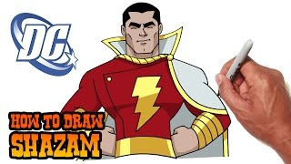 How to Draw Shazam | DC Comics