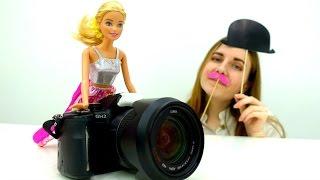 ФОТОСЕССИЯ для #Барби Делаем СЕЛФИ Барби ❤ Кен Игры Барби для девочек
