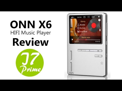 ONN X6 HIFI Music Player from TomTop.com