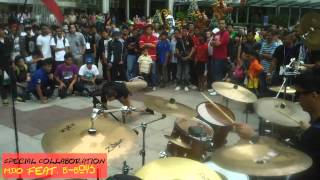 Coffee and Drum - MY Drummer Official at Malaysian Youth Buskers Fest 2012 by Cofeeanddrum