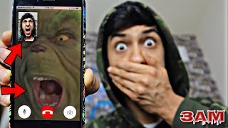 DO NOT FACETIME THE GRINCH AT 3AM!! *OMG HE ACTUALLY ANSWERED*
