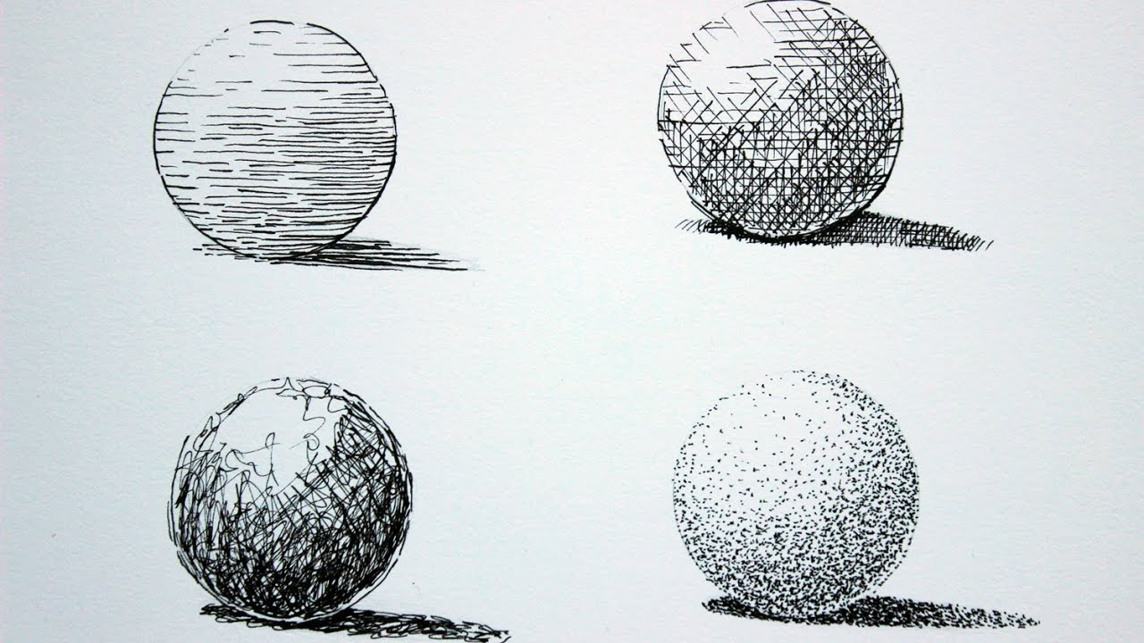 How to Draw With Pen and Ink - YouTube