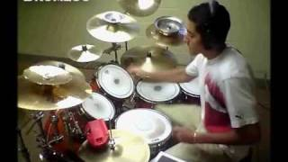 """E.T.""- Katy Perry -*DRUM COVER* /Remix ft. Kanye West (Kiss Me, Extra Terrestrial)"