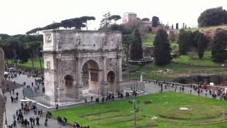 Рим вид из Колезей...