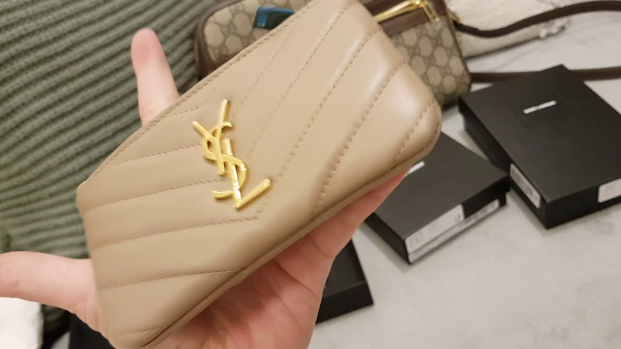 88f0366cea7 New Buys! Reveal 🤩 Gucci Ophidia shoulder bag   YSL key pouch   YSL ...