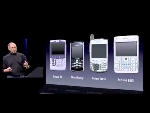 Thumbnail: Steve Jobs announcing the first iPhone in 2007