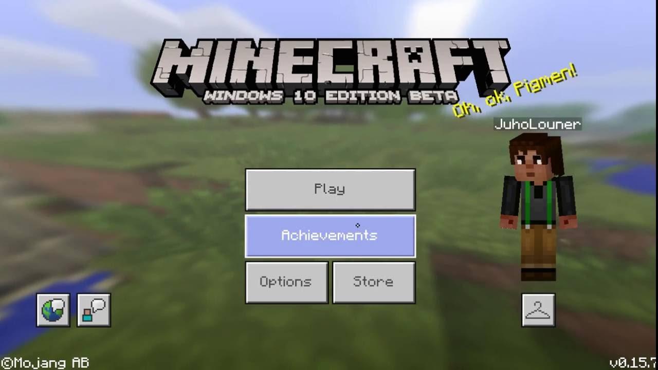 Minecraft windows 10 xbox live friends - YouTube