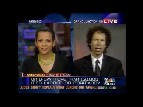 MSNBC Interview, Alison Stewart, Larry Cappetto