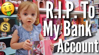 Buying EVERYTHING My Toddler Touches | Teen Mom Vlog