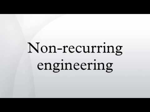 Non-recurring engineering
