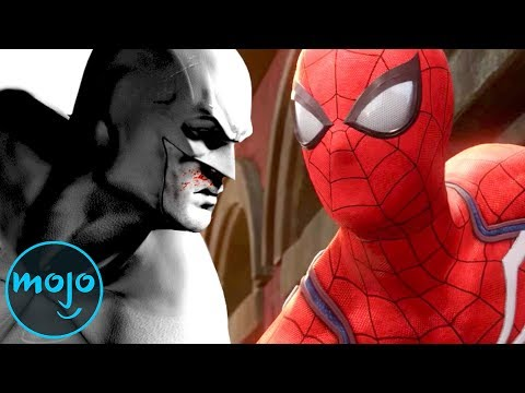 SpiderMan PS4 vs Batman: Arkham City