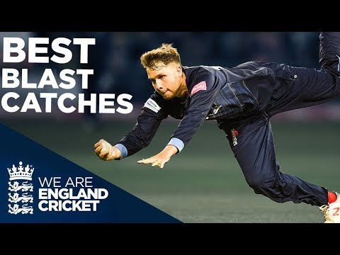Best Catches Of The Year! | Vitality Blast 2019 | England Cricket 2019