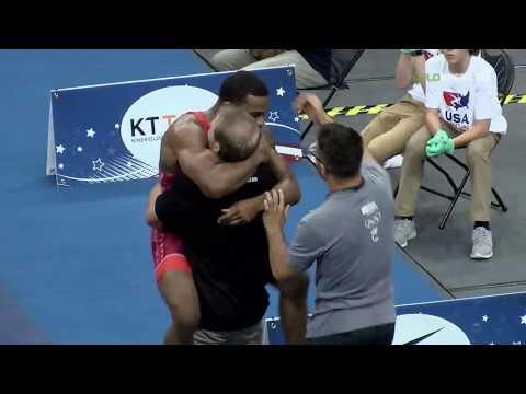 74 Round 3 - Jordan Burroughs (Sunkist Kids) vs. Kyle Dake (TMWC)
