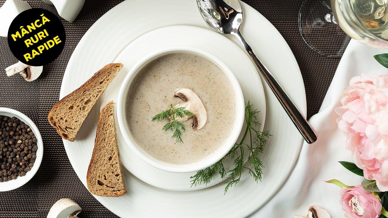 Supa Crema De Ciuperci - Mancaruri Rapide