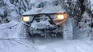BC Wheeling: Backroads Of Nanaimo In The Snow