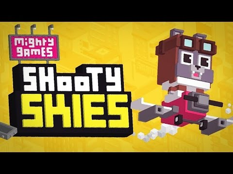 SHOOTY SKIES - GAMEPLAY IOS/ANDROID