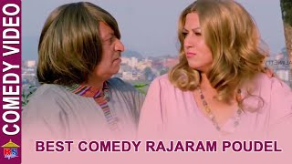 BEST OF RAJARAM POUDEL | Comedy Movie Scene | Poi Paryo Kale | Aakash Shrestha