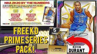 HOW TO GET A *FREE* GALAXY OPAL KEVIN DURANT PRIME SERIES 2 PACK! HIDDEN LOCKER CODE??? (NBA 2K20)