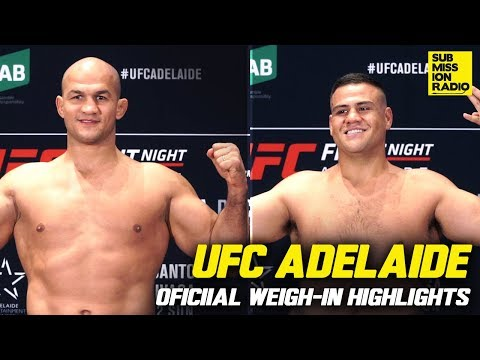 UFC Adelaide Official Weigh-Ins Highlights (Full)