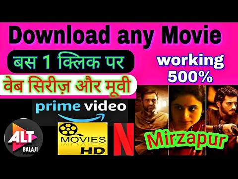 Download Download any Latest Movies and Web series Bollywood Hollywood South hindi dubbed in one click fullHd
