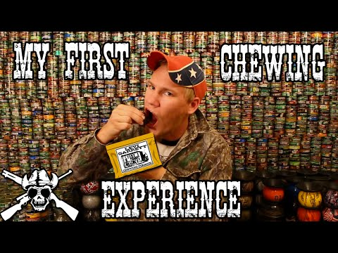 My first chewing experience...