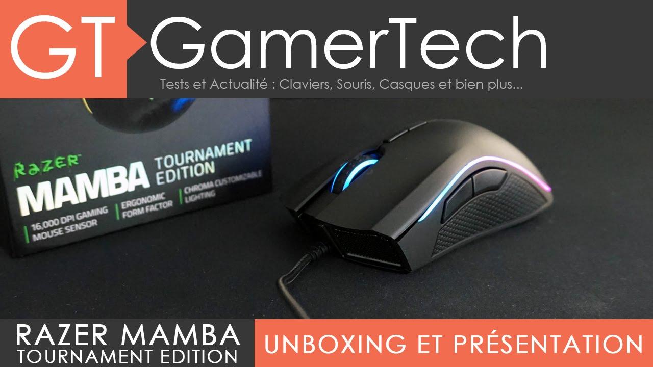 11ec59170b2 Razer Mamba Tournament Edition - Unboxing et Test [FR] - YouTube
