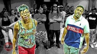 female rapper Vicci Myers vs MC Kwest | rap battle | AHAT DV