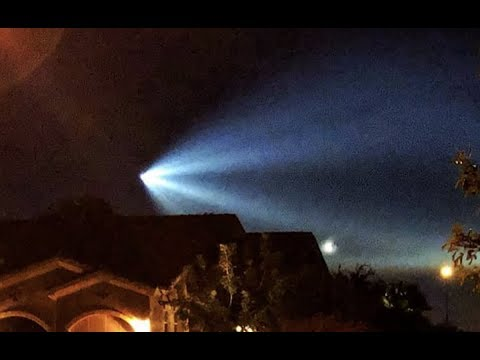 Video To Mention - Lights Over United States