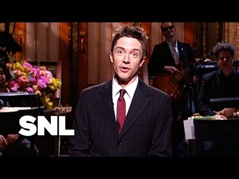 Topher Grace Monologue - Saturday Night Live streaming vf