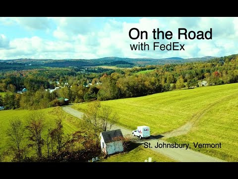 On The Road with FedEx: Vermont